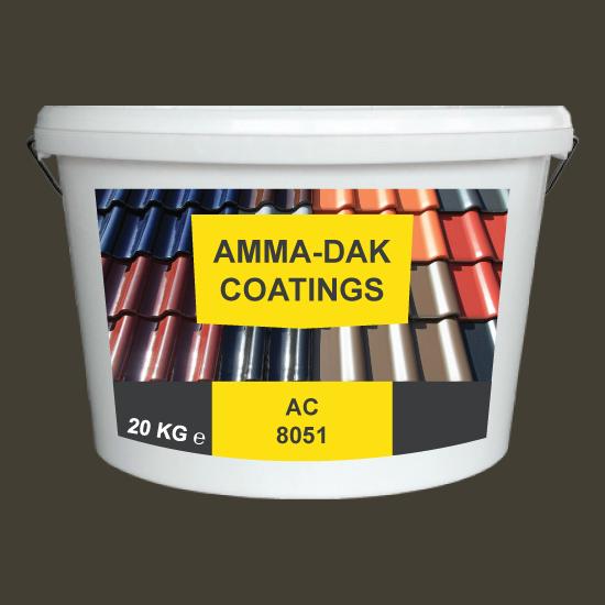 Oud gekleurd dakpannen coating AC 8051 - Amma Dakcoating