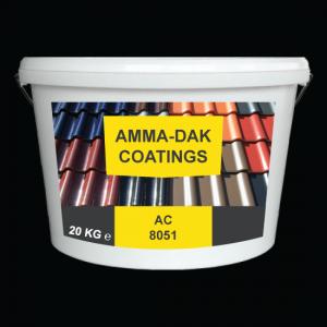 Zwart Dakpannen coating AC 8051 - Amma Dakcoating