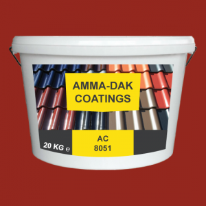 Baksteen Rood dakpannen coating AC 8051 - Amma Dakcoating