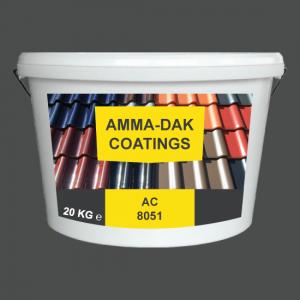 Leigrijs dakpannen coating AC 8051 - Amma Dakcoating