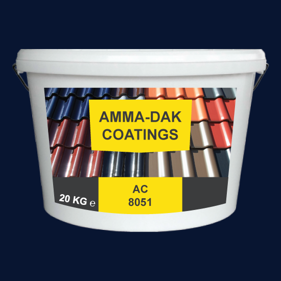 Middernachtblauw Dak Coating AC 8051 - Amma Dakcoating